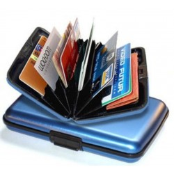Wallet credit card and cash